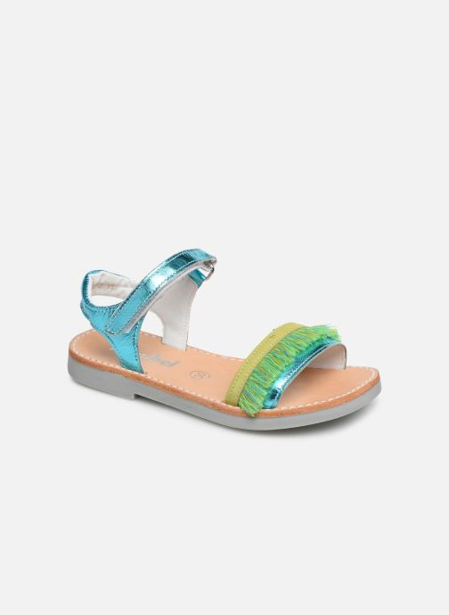 Sandals Minibel Soriany Blue detailed view/ Pair view