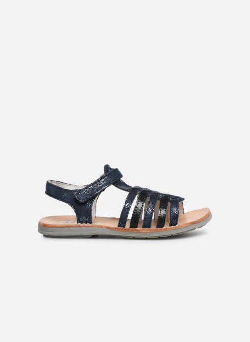 Sandales et nu-pieds Minibel Paris Bleu vue derrière