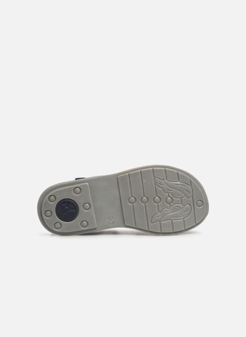 Sandales et nu-pieds Minibel Paris Bleu vue haut