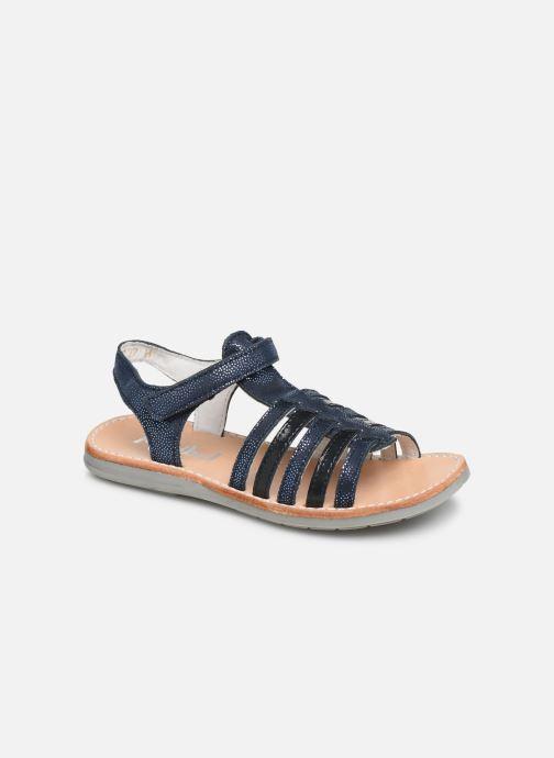 Sandales et nu-pieds Minibel Paris Bleu vue détail/paire