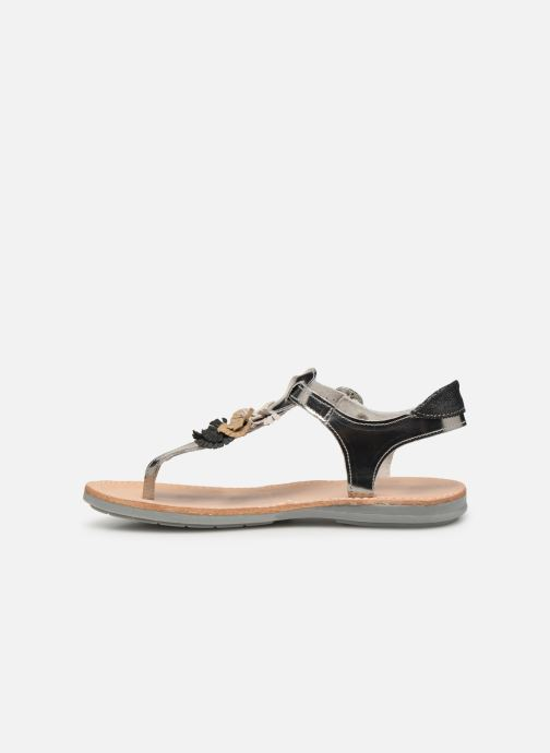 Sandals Minibel Solimane Silver front view