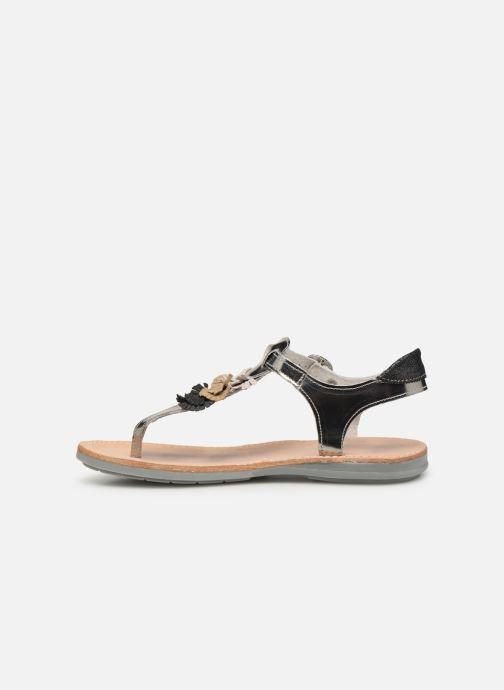 Sandales et nu-pieds Minibel Solimane Argent vue face
