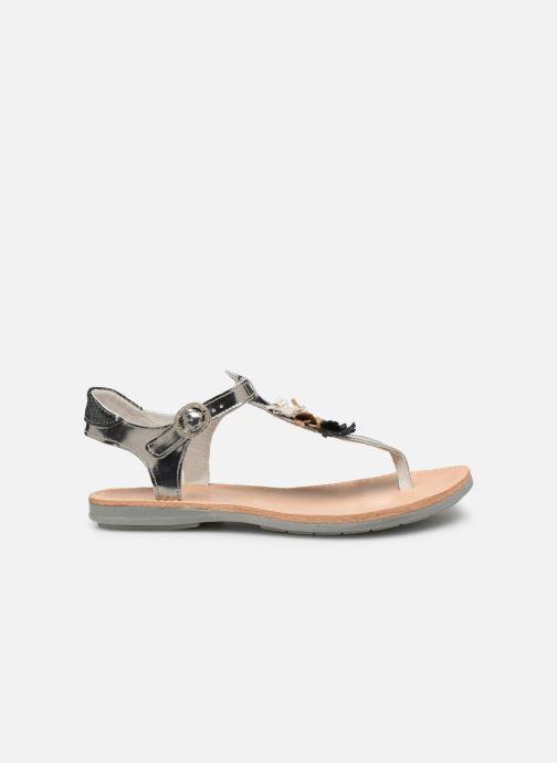 Sandales et nu-pieds Minibel Solimane Argent vue derrière