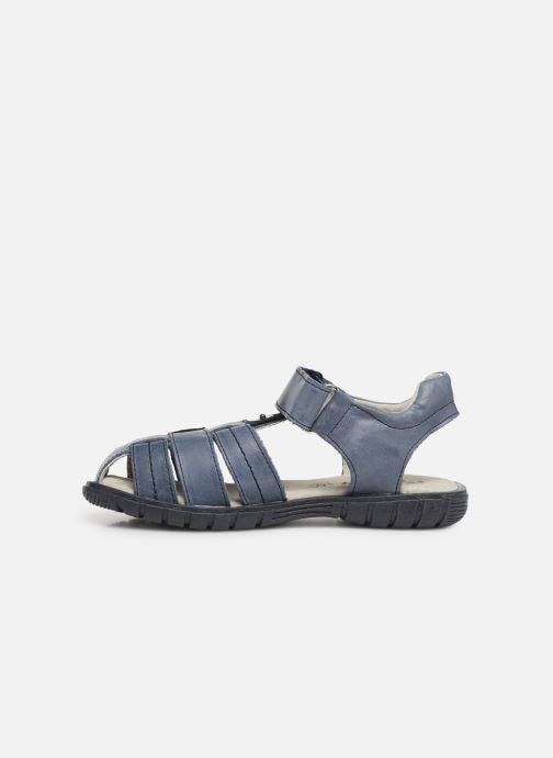 Sandales et nu-pieds Minibel Storm Bleu vue face