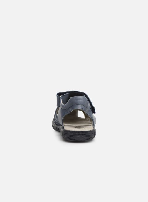 Sandales et nu-pieds Minibel Storm Bleu vue droite