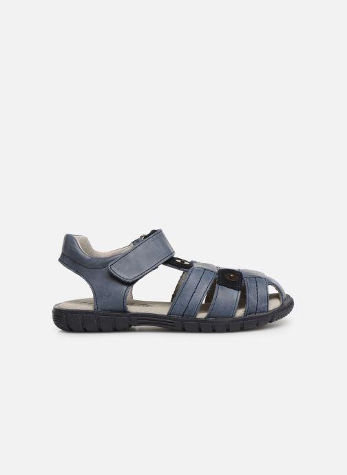 Sandalen Minibel Storm Blauw achterkant