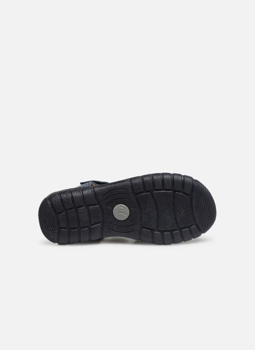 Sandales et nu-pieds Minibel Storm Bleu vue haut
