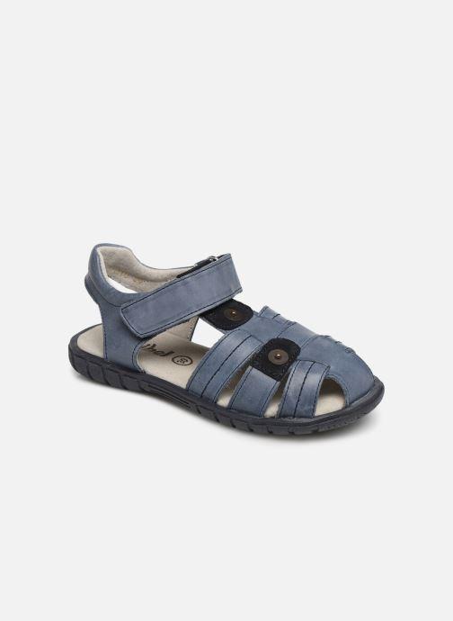 Sandales et nu-pieds Minibel Storm Bleu vue détail/paire