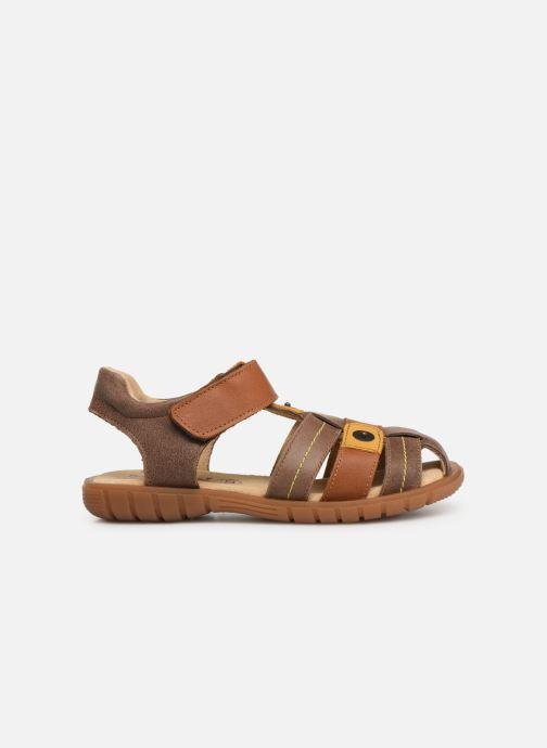 Sandales et nu-pieds Minibel Storm Marron vue derrière