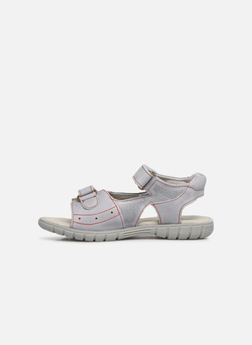 Sandals Minibel Story Grey front view