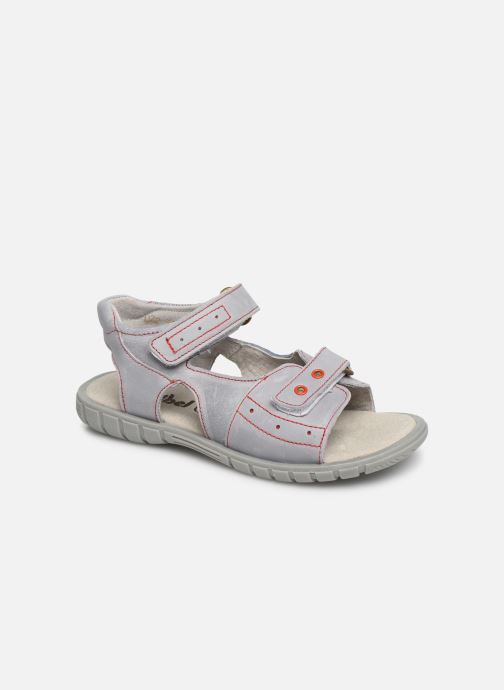 Sandals Minibel Story Grey detailed view/ Pair view