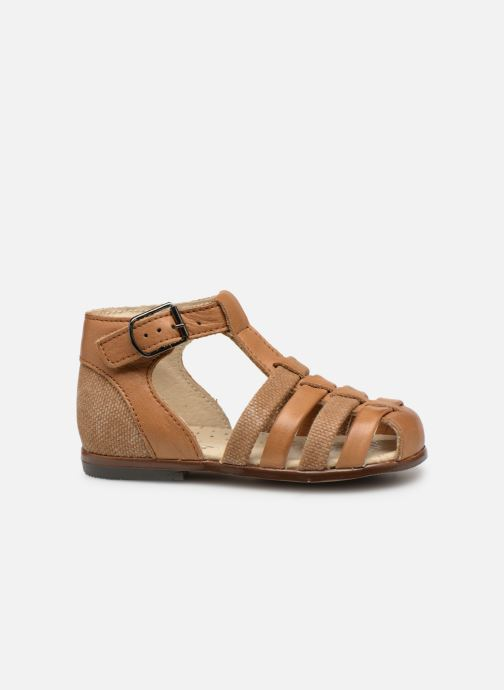 Sandals Little Mary Delta Brown back view