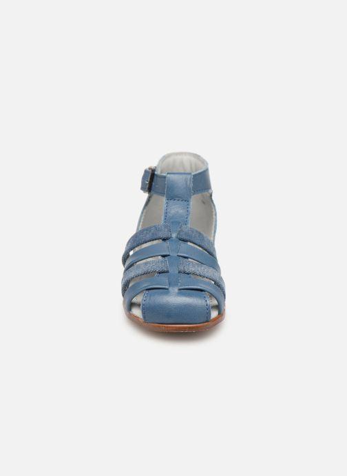 Sandales et nu-pieds Little Mary Delta Bleu vue portées chaussures