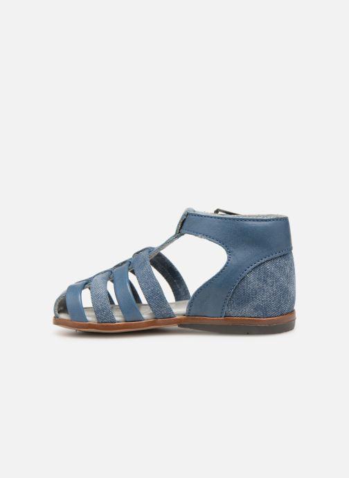 Sandales et nu-pieds Little Mary Delta Bleu vue face