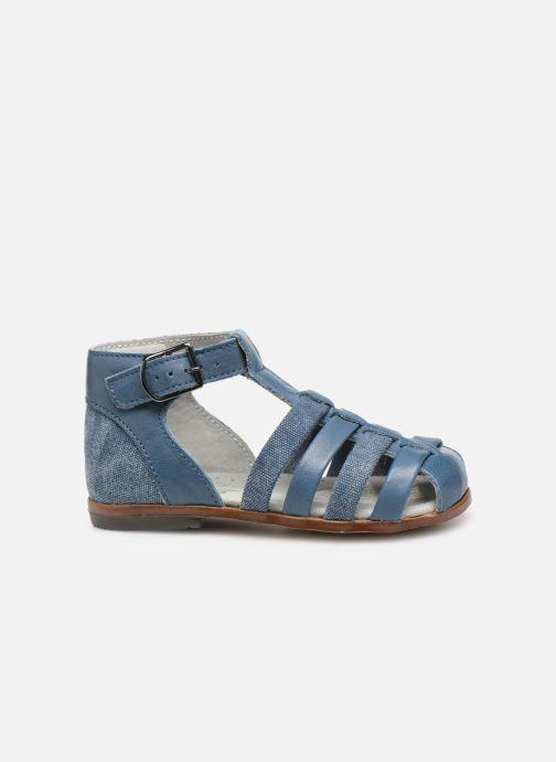 Sandales et nu-pieds Little Mary Delta Bleu vue derrière