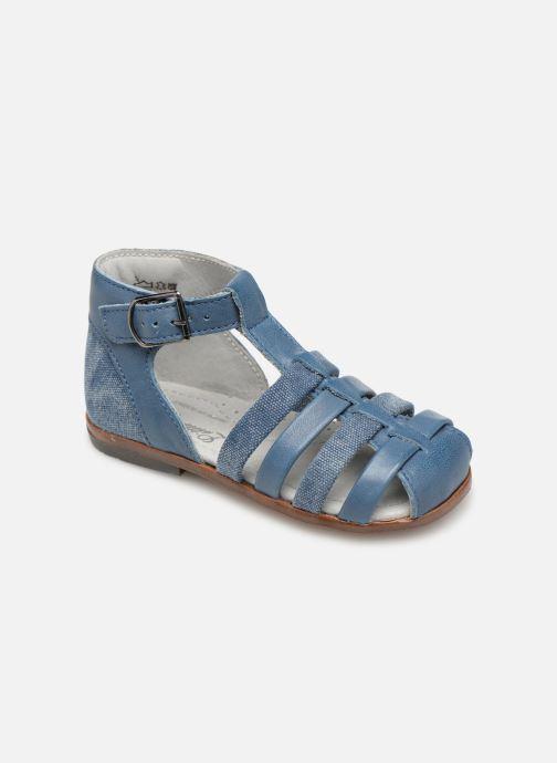 Sandales et nu-pieds Little Mary Delta Bleu vue détail/paire