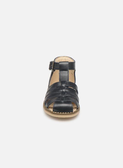 Sandales et nu-pieds Little Mary Joyeux Bleu vue portées chaussures