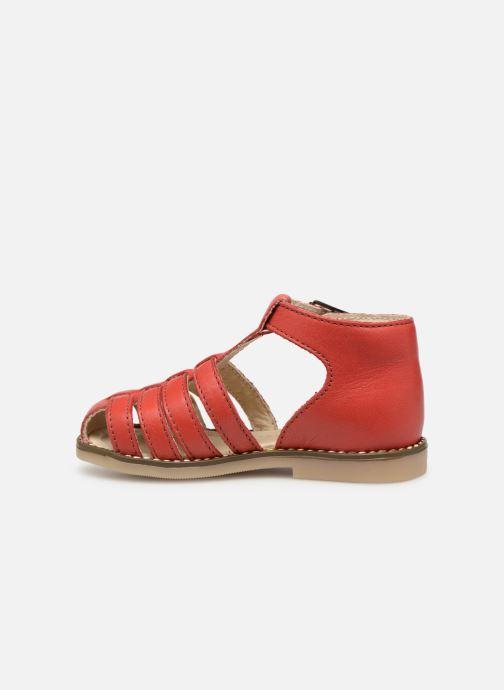 Sandales et nu-pieds Little Mary Joyeux Rouge vue face
