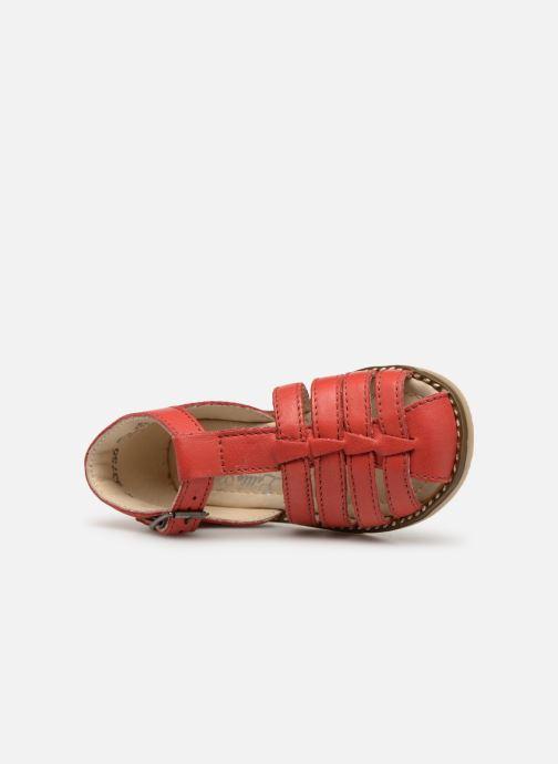 Sandales et nu-pieds Little Mary Joyeux Rouge vue gauche