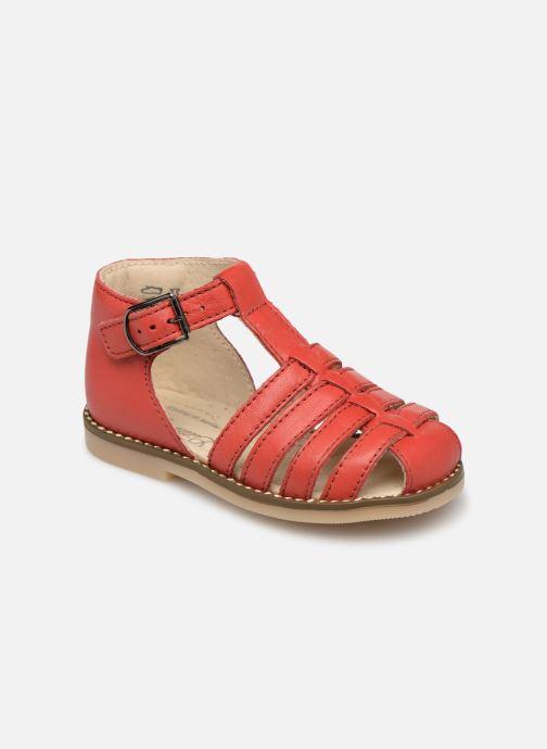 Sandales et nu-pieds Little Mary Joyeux Rouge vue détail/paire