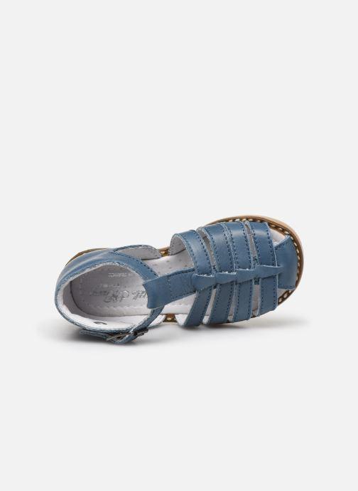 Sandales et nu-pieds Little Mary Joyeux Bleu vue gauche