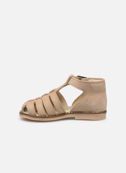 Sandales et nu-pieds Little Mary Joyeux Beige vue face