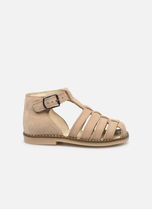 Sandales et nu-pieds Little Mary Joyeux Beige vue derrière