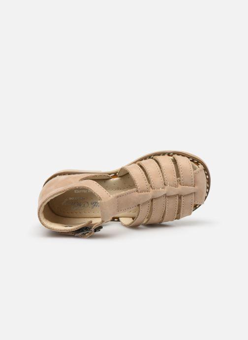 Sandales et nu-pieds Little Mary Joyeux Beige vue gauche