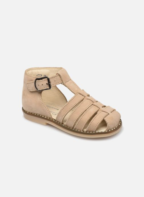 Sandales et nu-pieds Little Mary Joyeux Beige vue détail/paire