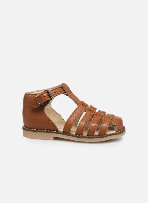 Sandales et nu-pieds Little Mary Joyeux Marron vue derrière