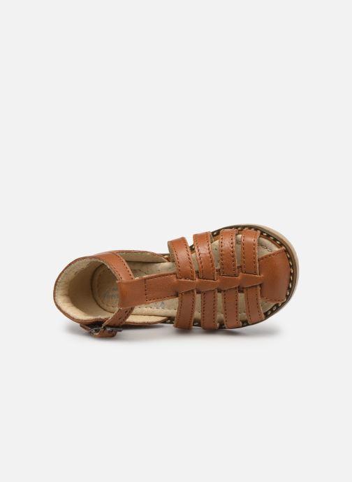 Sandales et nu-pieds Little Mary Joyeux Marron vue gauche