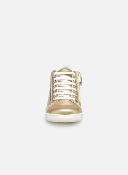 Trainers Little Mary Glitter Bronze and Gold model view