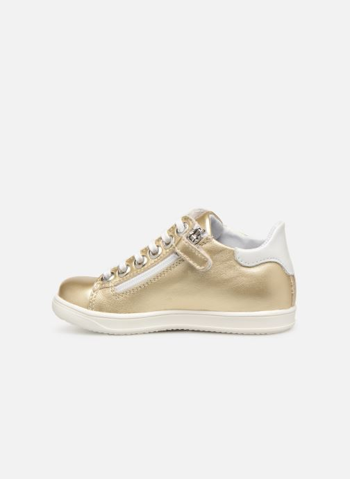 Trainers Little Mary Glitter Bronze and Gold front view