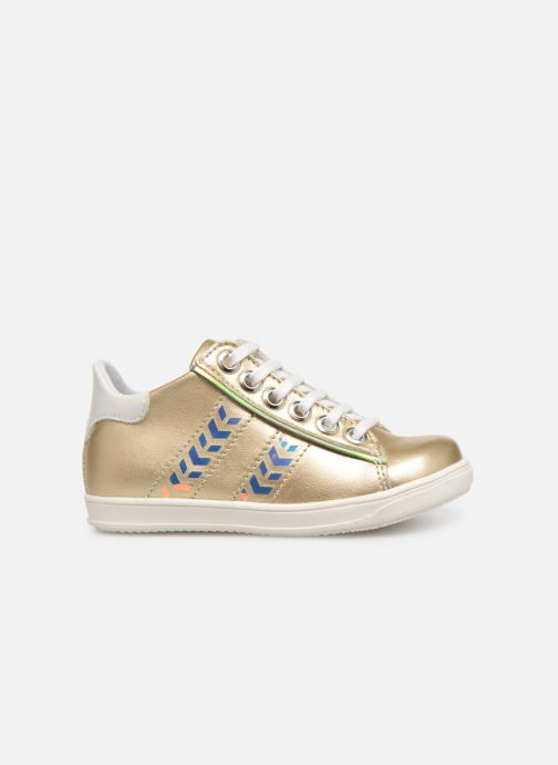 Trainers Little Mary Glitter Bronze and Gold back view
