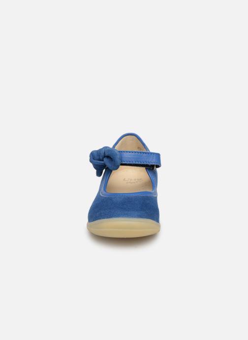 Ballerines Little Mary Gertrude Bleu vue portées chaussures