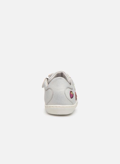 Sneakers Little Mary Groseille Sølv Se fra højre