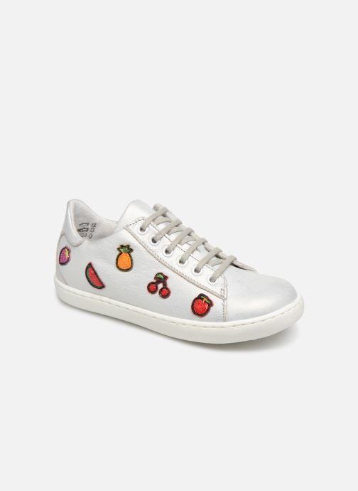 Sneakers Little Mary Groseille Sølv detaljeret billede af skoene