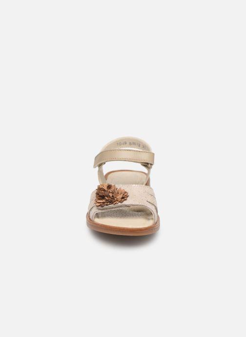 Sandales et nu-pieds Little Mary Girl Gris vue portées chaussures