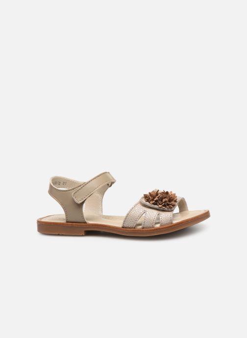 Sandales et nu-pieds Little Mary Girl Gris vue derrière
