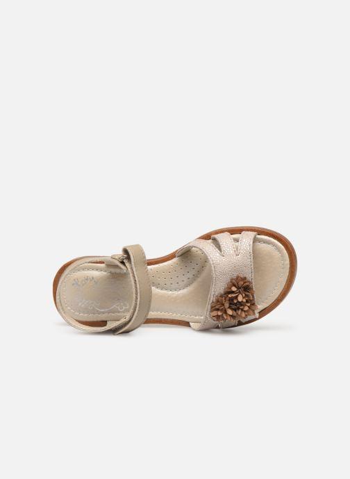 Sandales et nu-pieds Little Mary Girl Gris vue gauche