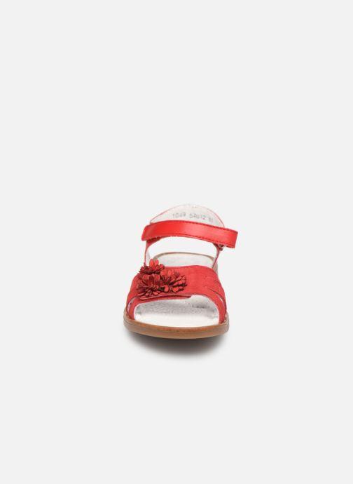 Sandales et nu-pieds Little Mary Girl Rouge vue portées chaussures