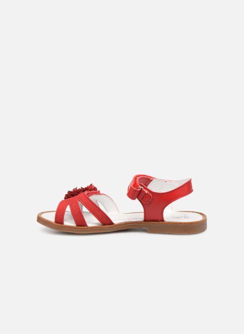 Sandales et nu-pieds Little Mary Girl Rouge vue face