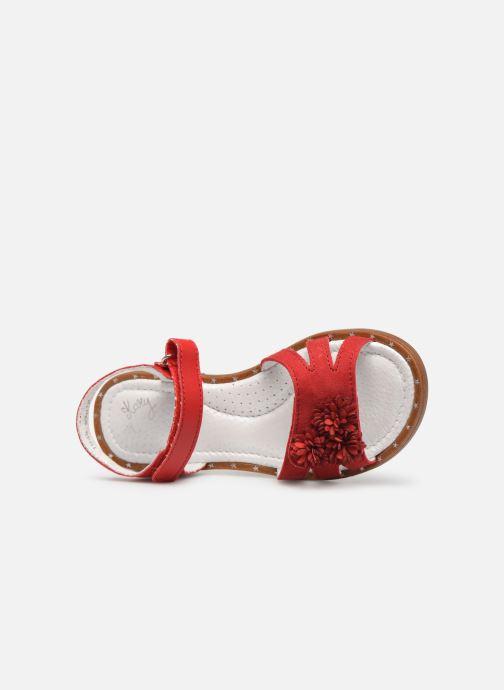 Sandales et nu-pieds Little Mary Girl Rouge vue gauche
