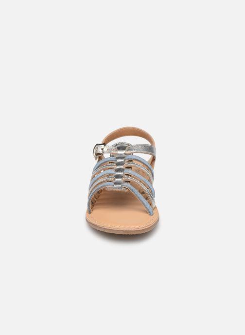 Sandales et nu-pieds Little Mary Barbade Argent vue portées chaussures
