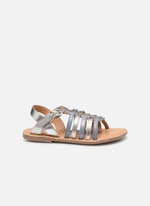 Sandales et nu-pieds Little Mary Barbade Argent vue derrière