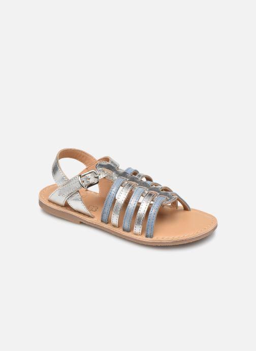 Sandales et nu-pieds Little Mary Barbade Argent vue détail/paire