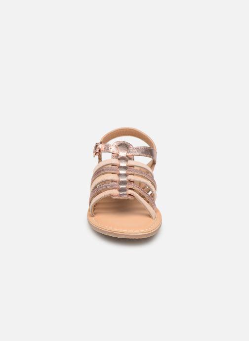 Sandales et nu-pieds Little Mary Barbade Rose vue portées chaussures