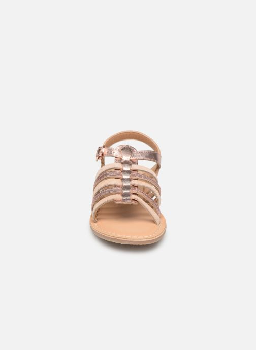 Sandales et nu-pieds Little Mary Barbade Rose vue portées chaussures