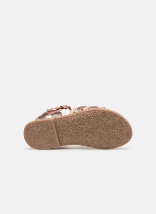 Sandales et nu-pieds Little Mary Barbade Rose vue haut