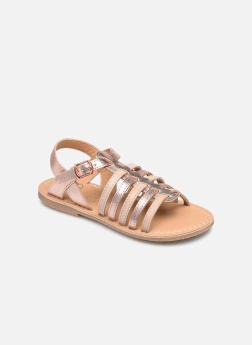 Sandales et nu-pieds Little Mary Barbade Rose vue détail/paire